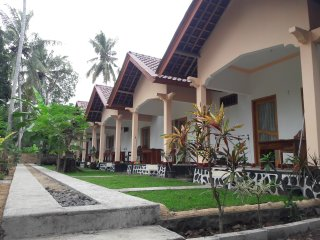 a New Room at Kuta Garden Homestay