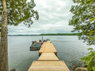 Executive 3,500 sq ft. Post & Beam bungalow built in 2015 on beautiful Lake of