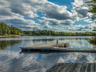 The Pointe on Brandy Lake  - 4 Bed 2 Bath Cottage with boathouse in Muskoka Lake