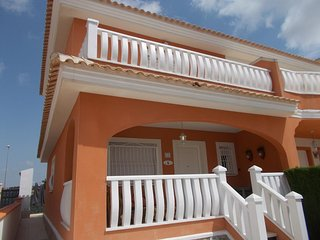 3 bedroom 2 bathroom end of terrace villa