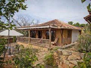 hermosa cabaña con hermosa vista a barichara, cañon del chicamocha