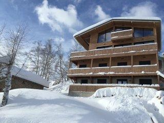 Ax-Bonnascre Chalet familial avec terrasse panoramique