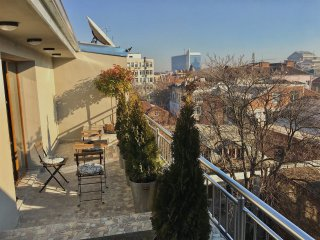 SOFIA PENTHOUSE APARTMENT+ Parking & Terraces