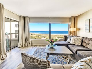 Spectacular view from Surf & Racquet Club Oceanfront condo renovated in 2017!