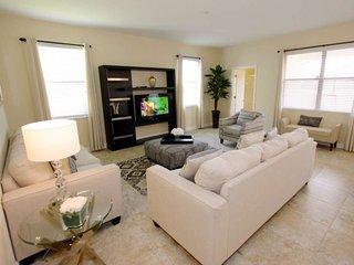 1437RF. Stunning 6 Bedroom 6 Bath Villa in the Disney Area