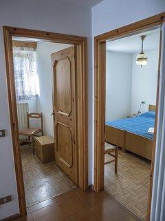 Entrata delle camere