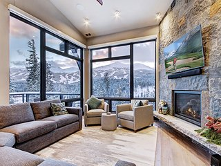 Modern Mountain Luxury Just Steps Away from the Gondola with Spectacular Views