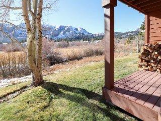 Creekside 3BR w/ Fireplace, Game Room & 2 Decks - Stunning Mountain Views