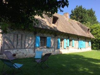 Honfleur Normandie : Chaumière pleine de charme proche Honfleur et Deauville