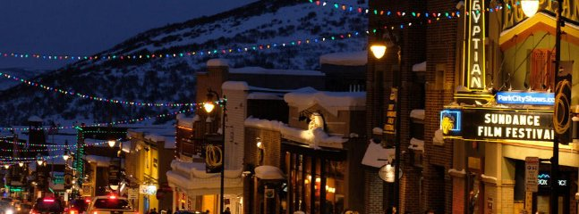 Sundance Film Festival in downtown Park City. Accessible by shuttle from hotel lobby.