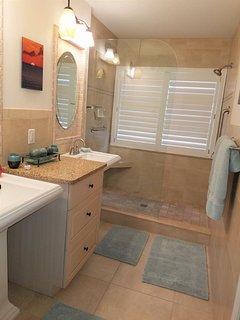 Master Bathroom has a Walk-In Shower