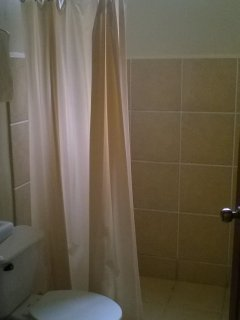 Full bath with shower.