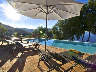 CAP DES RUBIO: Free Wifi, private pool and sea view