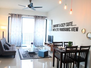 2 Bedroom Suites at City of Light with Panoramic View.