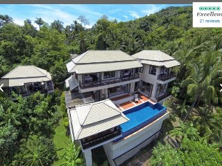 Tranquility Found Private Villa w/seaview and Pool
