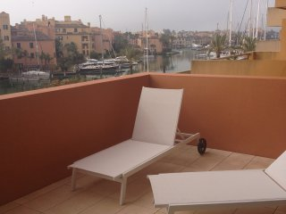 FOR RENT IN JUNE + AUGUST:APARTMENT RIBERA DEL MARLIN  LARGE TERRACE 2ND FLOOR