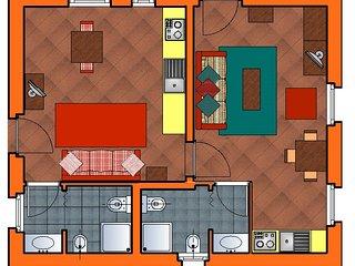 Appartamento wellness 4 posti