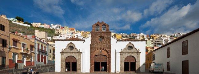 Church in San Sebastian de La Gomera.
