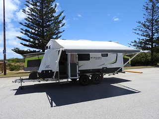 18ft Jayco Expanda with ensuite - Sleeps 6