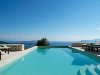 Boutique Villa Helios. Endless, breathtaking sea views. Tranquil setting.