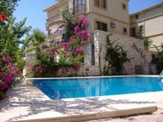 Mediterranean Apartment Complex, Central Kalkan. 1 Bedroom, Wifi, Aircon