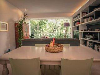 Green view apartment in Condesa near park