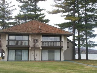 Lake front Condo on Deer Lake, Boyne Falls Mi  1 week left this summer june23-30