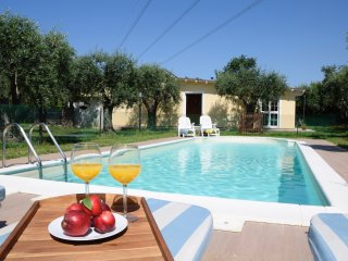 Villa Forte up to 8 sleeps close to the beach with private fenced pool & garden