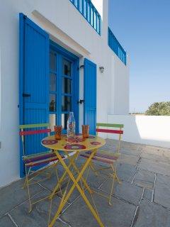 Captain's Home-ART veranda ground level