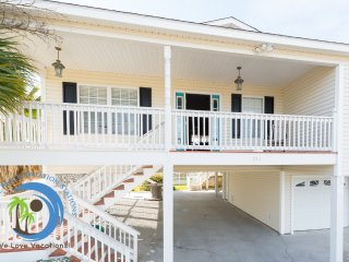 Cherry Grove Beach House! Steps to Beach! Pet Friendly!