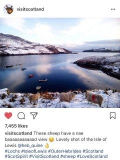 Visit Scotland recommends Lemreway!!