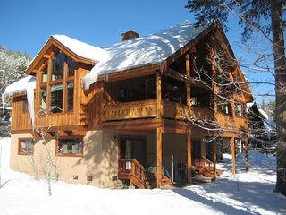 Powder Moon Luxury Home offering SKIERS SPECIAL plus 1/2 PRICE on all SKI/BOARDS
