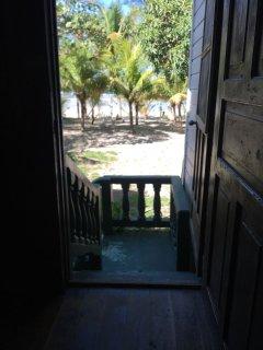 Front door looking towards beach