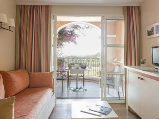 Standard Studio for 4 with Sea View at Holiday Village Cap Esterel