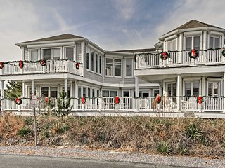 NEW! Huge 5BR Home Steps from Fenwick Island Beach