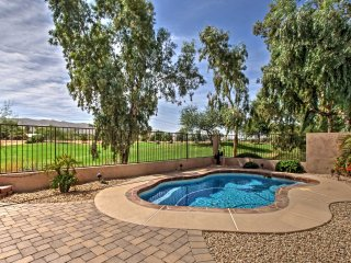 Zen Family Home on Legacy Golf Course w/ Pvt Pool!