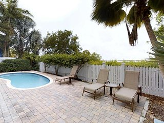 Comfortable, waterfront home w/ covered lanai, pool, Jacuzzi tub - lovely views