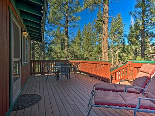 'Pine Top Haven' Peaceful Big Bear City Cabin!