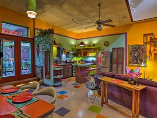 NEW! 'Artist's Retro Retreat' 2BR San Antonio Apt!