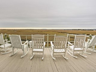 NEW! 4BR Sunset Beach Cottage with Deck and Views!