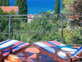 Luxurious spanish type Villa Elena with pool, sauna and seaview EOS CROATIA