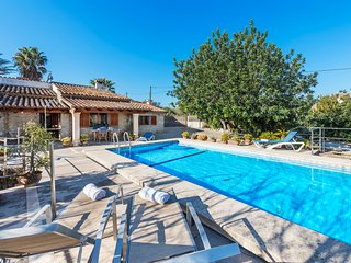 BEAUTIFUL MALLORCAN STYLE VILLA WITH PRIVATE POOL