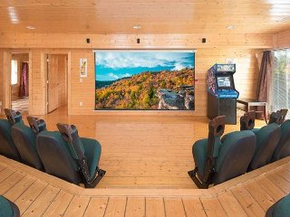 Enjoy Mountain Views and a Private Home Theater Room - Sleeps 34 Guests