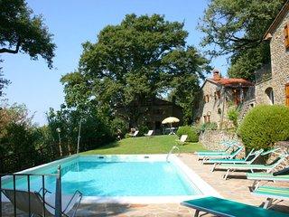 8 bedroom Villa in Castiglion Fiorentino, Tuscany, Italy : ref 5490391