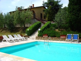 4 bedroom Villa in Monte San Savino, Tuscany, Italy : ref 5490340