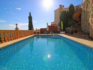 3 bedroom Villa in Calpe, Valencia, Spain : ref 5487703
