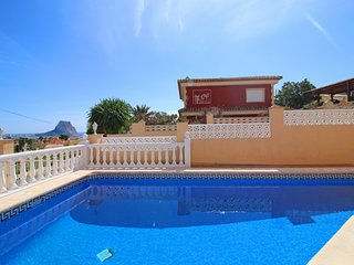 3 bedroom Villa in Calpe, Valencia, Spain : ref 5487635