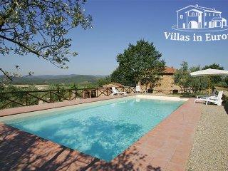 3 bedroom Villa in Arezzo, Tuscany, Italy : ref 5484071