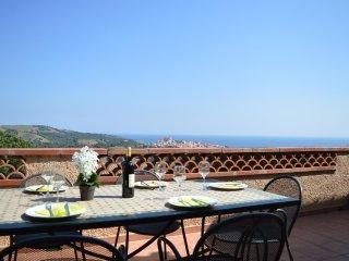 Villa vue superbe sur la mer