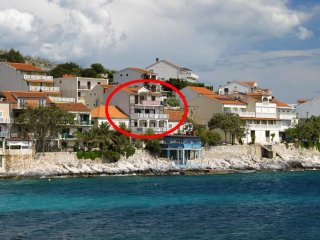 Three bedroom apartment Milna, Hvar (A-554-a)
